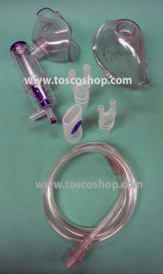 Ampolla completa di accessori per Aerosol -116