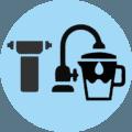 filri acqua filtrazione casa ufficio