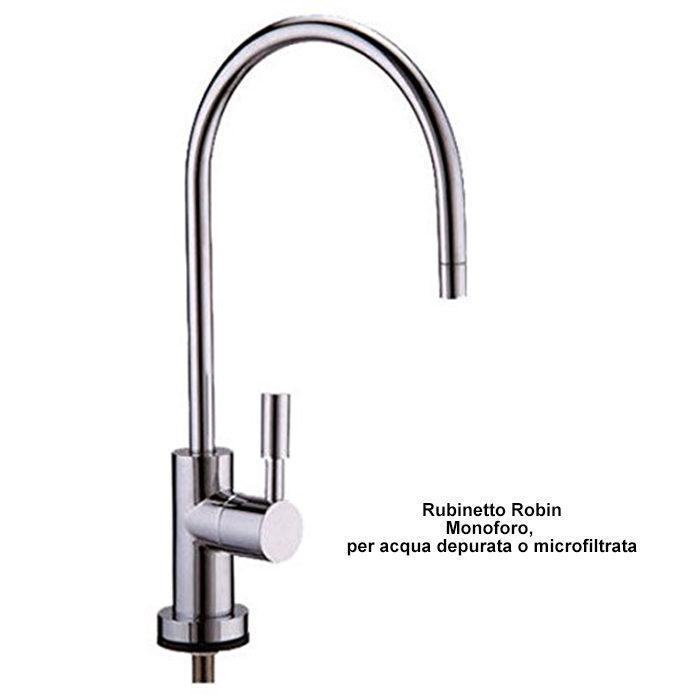 rubinetto monoforo per acqua depurata