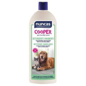 detergente per pavimenti nuncas - ideale in presenza di animali domestici