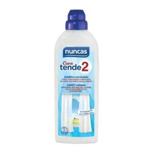 Tende 2 Cura è un vero e proprio trattamento professionale per le tende della tua casa di qualunque tessuto e forma. Aggiunto nell'ultimo risciacquo si deposita sui tessuti in modo omogeneo,